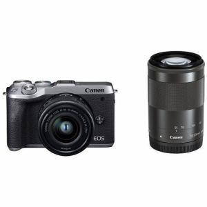 【クリックで詳細表示】キヤノン EOSM6MK2 WZKSL ミラーレスカメラ EOS M6 Mark II (シルバー)・ダブルズームキット
