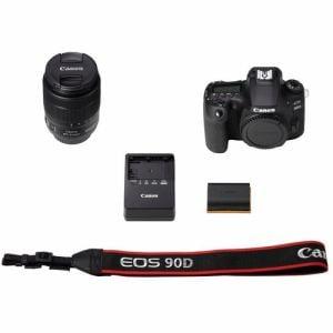 キヤノン EOS90D18135ISUSMLK デジタル一眼レフカメラ EOS 90D(W)・EF-S18-135 IS USM レンズキット 黒