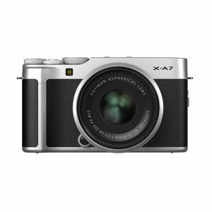 富士フイルム XA7 LKIT S ミラーレス一眼カメラ Xシリーズ  シルバー