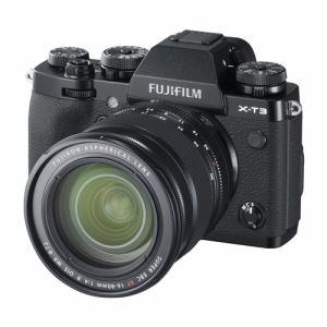 富士フイルム XT3 LKIT 1680B ミラーレス一眼カメラ Xシリーズ XT3レンズキット ブラック