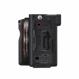 ソニー ILCE-7CL B α7C ミラーレス一眼カメラ ズームレンズキット ブラック
