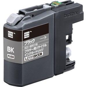 エコリカ ECI-BR111B リサイクルインクLC111BK互換