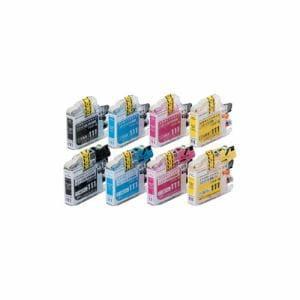 カラークリエーション CCB-LC111W-4P Color Creation BROTHER LC111-4PK互換 インクカートリッジ1個+交換用インクタンク1個