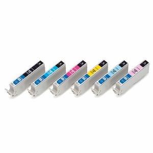 カラークリエーション CIE-IC80LN-6P エプソン用IC6CL80L互換インク 6色パック