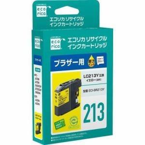 エコリカ ECI-BR213Y ブラザー用リサイクルインク(染料イエロー)