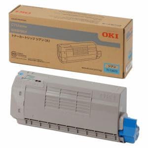 OKI TC-C4CC2 C712dnw用 トナーカートリッジ シアン 大