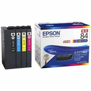 エプソン IC4CL84 【純正】 インクパック 4色パック 大容量タイプ