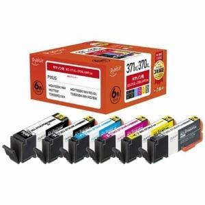 プレジール PLE-C371XL6P キヤノン BCI-371XL+370XL/6MP互換インクカートリッジ 6色パック