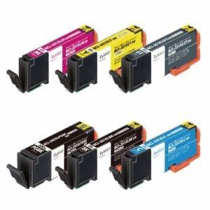 プレジール PLE-C351XL6P キヤノン用互換インクカートリッジ 6色パック