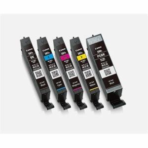 インク キヤノン 純正 カートリッジ インクカートリッジ BCI-381S+380S/5MP インクタンク マルチパック 小容量 インク