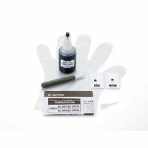 エレコム THC-345BK8 詰替えインク キヤノン BC-345対応 ブラック(8回分)