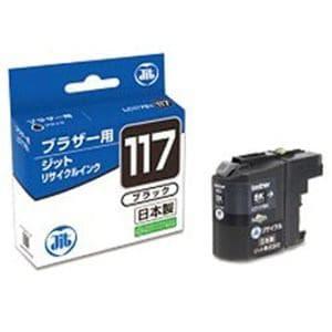 ジット JIT-B117B(ブラザー LC117BK対応/リサイクルインクカートリッジ/ブラック)