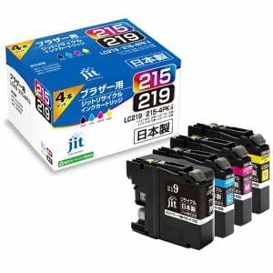 ジット JIT-B2192154P 互換プリンターインク 4色セット