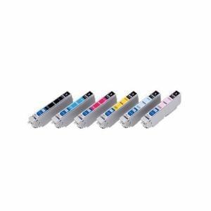エレコムカラークリエイション CIE-IC80LN2-6P エプソン用互換インクカートリッジ   6色セット