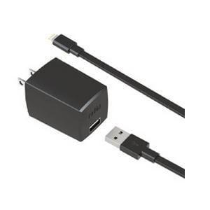 ラディウス PA-ADF51K 2.4A iPad 4th 対応 AC Adapter ブラック
