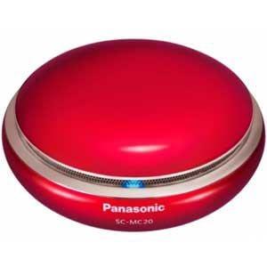 パナソニック Bluetooth対応ポータブルワイヤレススピーカーシステム (レッド) SC-MC20-R