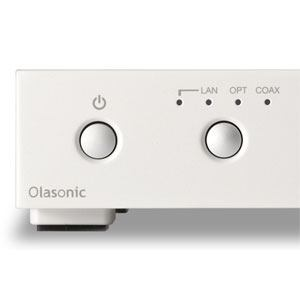 オラソニック(Olasonic) NANO-NP1 ネットワークオーディオプレーヤー NANOCOMPO プラチナホワイト