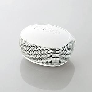 エレコム Bluetoothモノラルスピーカー (ホワイト) LBT-SPP20WH