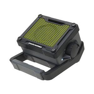 オーディオテクニカ ポータブルアクティブスピーカー(グリーン) AT-SPB200-GY