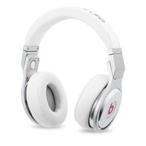 BEATS BY DR.DRE(ビーツ バイ ドクタードレ) pro プロフェッショナルDJヘッドフォン ホワイト BT OV PRO WHT MH6Q2PA/