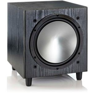 モニターオーディオ サブウーファー (1本) ブラックオーク BRONZEW10-BO