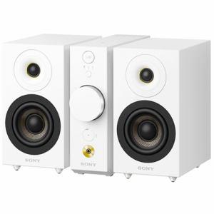 ソニー セパレートタイプ Bluetoothスピーカー コンパクトオーディオシステム(ホワイト) CAS-1-WC