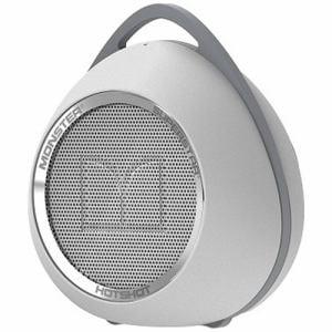 モンスターケーブル MH-SPSTR-HOT-BT-WHCR Bluetooth対応スピーカー ホワイト