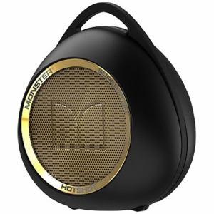 モンスターケーブル MH-SPSTR-HOT-BT-BKGLD Bluetooth対応スピーカー ブラックゴールド