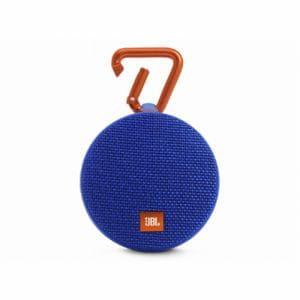 JBL CLIP2-BLUE スプラッシュプルーフ(IPX7)対応 Bluetoothスピーカー ブルー