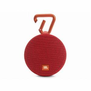 JBL CLIP2-RED スプラッシュプルーフ(IPX7)対応 Bluetoothスピーカー レッド