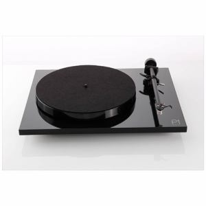 REGA(レガ) PLANAR1-BLACK60/HZ アナログプレーヤー ブラック 60Hz用