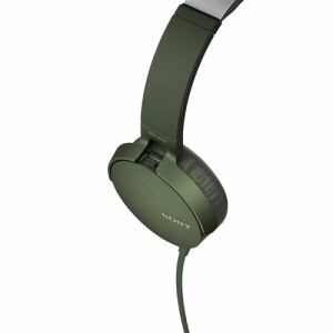 イヤホン ソニー マイク   MDRXB550APGC マイク&コントローラー搭載 ダイナミック密閉型ヘッドホン (グリーン)