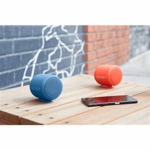 ソニー SRS-XB10-L Bluetooth対応 ワイヤレスポータブルスピーカー ブルー