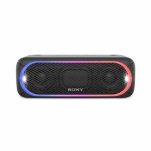 ソニー SRS-XB30-B Bluetooth対応 ワイヤレスポータブルスピーカー ブラック