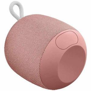 ロジクール WS650PK ポータブルワイヤレスBluetoothスピーカー 「UE WONDERBOOM」 ピンク