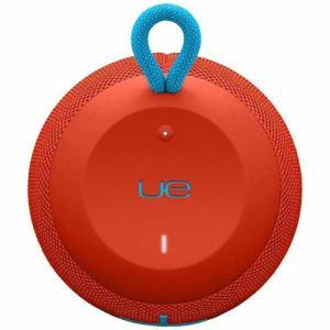 ロジクール WS650RD ポータブルワイヤレスBluetoothスピーカー 「UE WONDERBOOM」 レッド