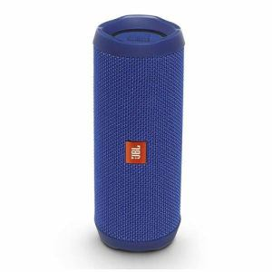 JBL JBLFLIP4BLU ウォータープルーフ対応 Bluetoothスピーカー 「JBL FLIP4(フリップ4)」 ブルー