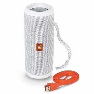 JBL JBLFLIP4WHT ウォータープルーフ対応 Bluetoothスピーカー 「JBL FLIP4(フリップ4)」 ホワイト