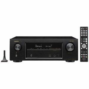 デノン AVR-X1400H-K 【ハイレゾ音源対応】 7.2ch AVサラウンドレシーバー ブラック