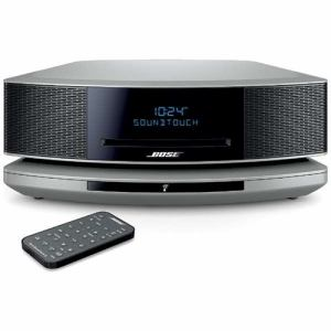 BOSE WSTIVPS WiFi対応 ブルートゥーススピーカー Wave SoundTouch music system IV プラチナシルバー