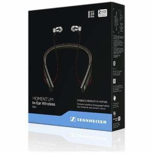 ゼンハイザー M2-IEBT-BLACK Bluetooth搭載ワイヤレスイヤフォン 「MOMENTUM In-Ear Wireless」