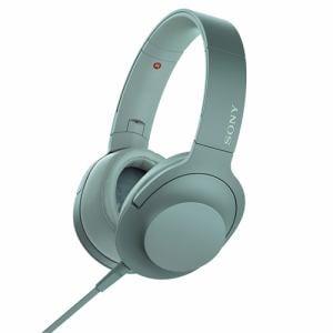 ソニー MDR-H600A-G 【ハイレゾ音源対応】 ヘッドホン 「SONY hear on 2」 (ホライズングリーン)