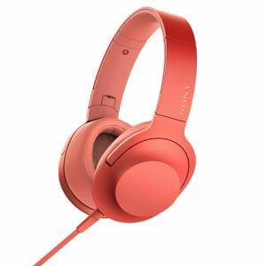 ソニー MDR-H600A-R 【ハイレゾ音源対応】 ヘッドホン 「SONY hear on 2」 (トワイライトレッド)