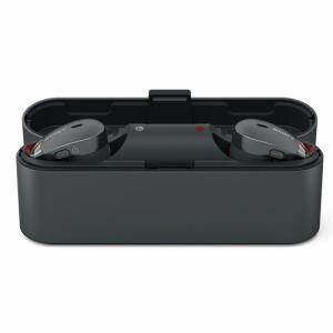 ソニー WF-1000X-B ワイヤレスノイズキャンセリングステレオヘッドセット ブラック