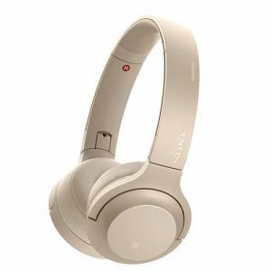 ソニー WH-H800-N 【ハイレゾ音源対応】 ワイヤレスステレオヘッドセット 「h.ear on 2 Mini Wireless」 ペールゴールド