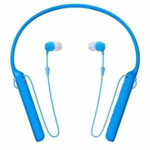 ヘッドセット ソニー    WI-C400-L ワイヤレスステレオヘッドセット ブルー