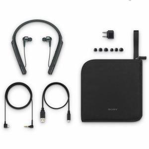 ソニー WI-1000X-B ワイヤレスノイズキャンセリングステレオヘッドセット ブラック