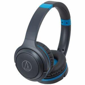 オーディオテクニカ ATH-S200BT-GBL Bluetooth対応ヘッドセット グレーブルー