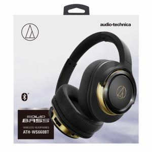 オーディオテクニカ ATH-WS660BT-BGD Bluetooth対応ワイヤレスヘッドホン ブラックゴールド