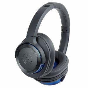 オーディオテクニカ ATH-WS660BT-GBL Bluetooth対応ワイヤレスヘッドホン ガンメタリックブルー